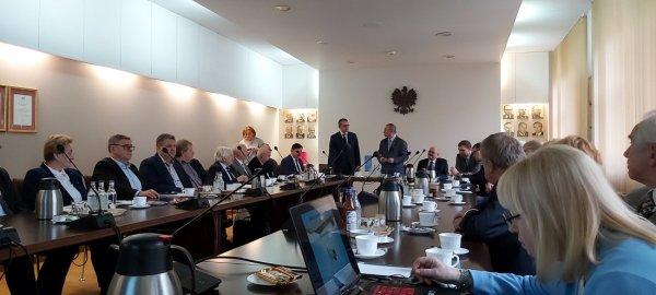 Posiedzenie Zarządu Oddziału Zagłębia Węglowego Stowarzyszenia Elektryków Polskich w GIG